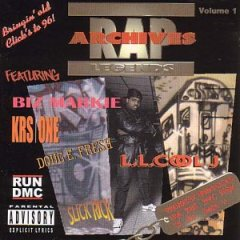 Rap Archives Vol 1 Cover Art